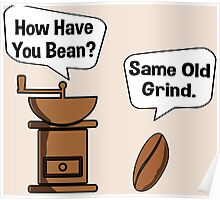 Coffee Bean Grinder Poster