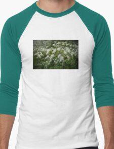 Vintage Lilac: Color Men's Baseball ¾ T-Shirt