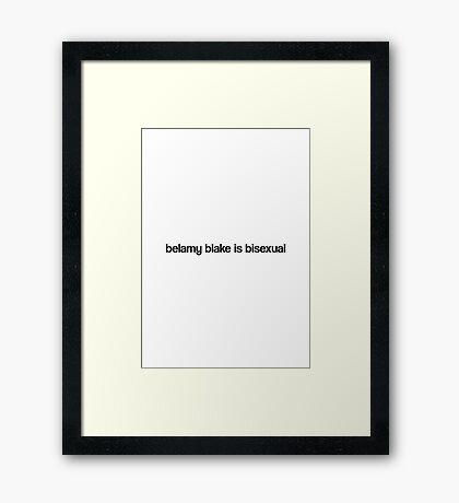 baby bi bi bi. Framed Print