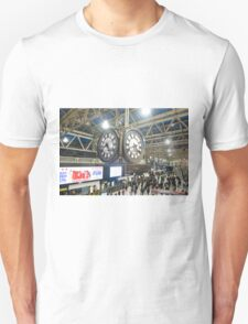 London Waterloo Station Clock T-Shirt
