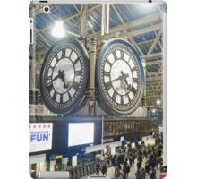 London Waterloo Station Clock iPad Case/Skin