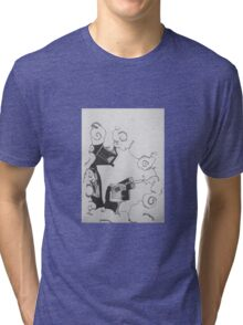 Evil Must.. Relax Tri-blend T-Shirt