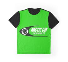 Vintage Arctic Cat Snowmobiles Graphic T-Shirt