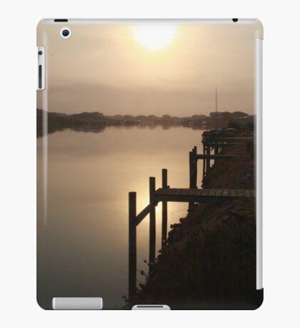 Sun Rising through Grampians Smoke iPad Case/Skin