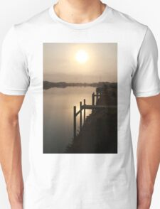 Sun Rising through Grampians Smoke T-Shirt