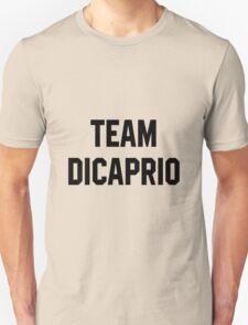 Team Dicaprio - Black Text T-Shirt