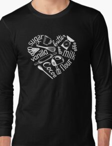 I Love Baking Long Sleeve T-Shirt