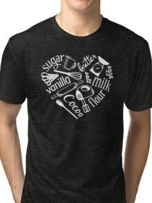 I Love Baking Tri-blend T-Shirt