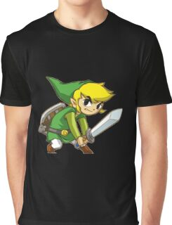Link from Zelda Graphic T-Shirt