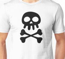 Simple Skull and Crossbones Unisex T-Shirt