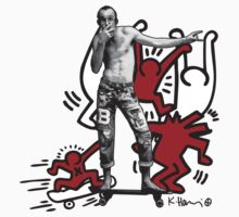 Keith Haring - The man and the art Baby Tee