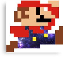 Galaxy Mario Canvas Print