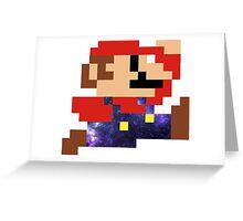 Galaxy Mario Greeting Card