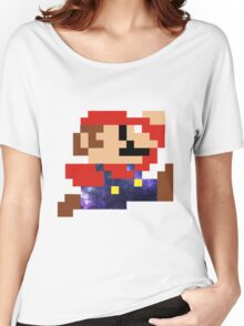 Galaxy Mario Women's Relaxed Fit T-Shirt