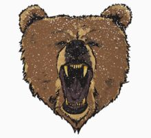 Angry Bear Kids Tee