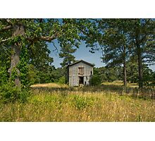 Barn In Summer Sunshine: Color Photographic Print