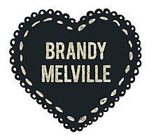 Brandy melville Photographic Print