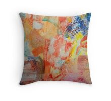 Journey Down the Waterfall Throw Pillow