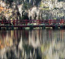 Magnolia Plantation Reflection Sticker