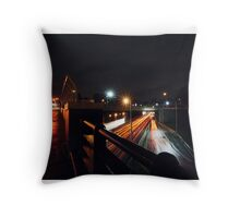 New York City Highways Throw Pillow