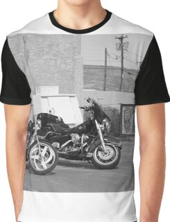 Route 66 - Grants, New Mexico Motorcycles Graphic T-Shirt