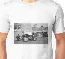Route 66 - Grants, New Mexico Motorcycles Unisex T-Shirt