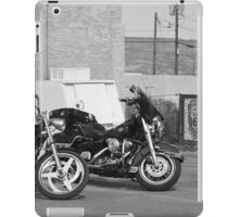 Route 66 - Grants, New Mexico Motorcycles iPad Case/Skin