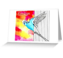 Freedom Greeting Card