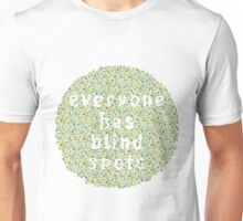 Everyone Has Their Blind Spots - V3 Ishihara Unisex T-Shirt