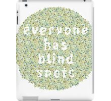Everyone Has Their Blind Spots - V3 Ishihara iPad Case/Skin