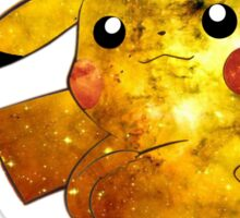 Pikachu Galaxy (Pokemon) Sticker