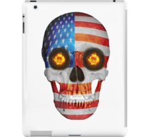 USA FLag Skull iPad Case/Skin