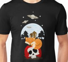 Dreaming of Cryptids and UFOs Unisex T-Shirt