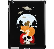 Dreaming of Cryptids and UFOs iPad Case/Skin