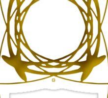 Astrology Symbol For Uranus Sticker