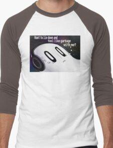 Undertale Napstablook Men's Baseball ¾ T-Shirt