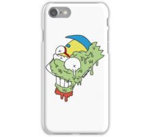 Bart Simpson and Milhouse iPhone Case/Skin