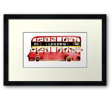 Bunny in London Framed Print