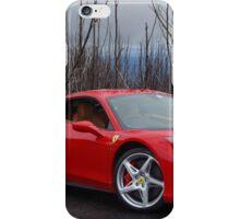 Ferrari 458 side/front iPhone Case/Skin