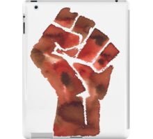 Black Power iPad Case/Skin