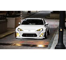 White Rocket Bunny FRS Photographic Print