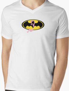 Flutterbatman Mens V-Neck T-Shirt