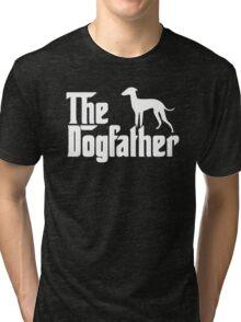 The Dogfather Italian Greyhound Tri-blend T-Shirt