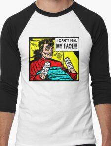Can't Feel My Face Men's Baseball ¾ T-Shirt