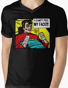 Can't Feel My Face Mens V-Neck T-Shirt