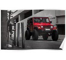 Lifted Jeep Poster