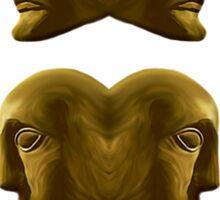 The Gemini Zodiac Emblem Sticker