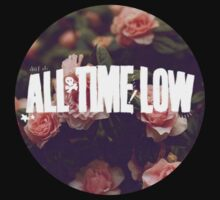 all time low rosy logo 2 (white) by maydolma