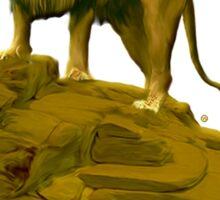 The Leo Zodiac Emblem Sticker