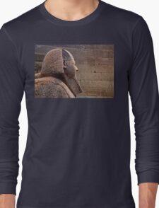 Sphinx of Hatshepsut Long Sleeve T-Shirt